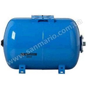 Гидроаккумулятор Aquasystem VAO-80л горизонтальный