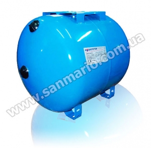 Гидроаккумулятор Aquasystem VAO-100л горизонтальный