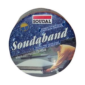 "Битумная монтажная лента Soudal ""Soudaband"" 10см коричневый"
