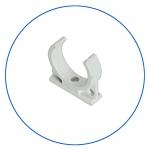 """Одинарный хомут 2,1/2"""" для крепления линейных картриджей или корпусов мембран к плоской поверхности AquaFilter """"C2500W"""""""