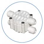 """Четырехходовой клапан для систем обратного осмоса AquaFilter 4 х 1/4"""" """"S-3000W"""""""