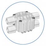 """Четырехходовой клапан для систем обратного осмоса AquaFilter 4 х 1/4"""" тип JC """"S-3000WJG"""""""
