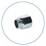"""Латунный соединитель с уплотнительным кольцом  AquaFilter 3/4""""н х 3/4""""вн """"FT02"""""""