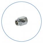 """Латунное соединение с упл. кольцом для краника SEWBV1414 или BV1438 AquaFilter 3/8""""н х 3/8""""вн х 1/4""""вн """"FT03"""""""
