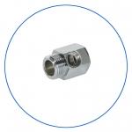 """Латунное соединение с упл. кольцом для краника SEWBV1414 или BV1438 AquaFilter 1/2""""н х 1/2""""вн х 1/4""""вн """"FT06"""""""