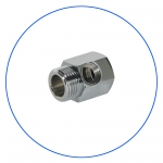 """Латунное соединение с упл. кольцом для краника SEWBV1414 или BV1438 AquaFilter 3/4""""н х 3/4""""вн х 1/4""""вн """"FT07"""""""