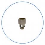 """Латунная втулка-переходник для установки манометра к корпусам BigBlue и серии HP AquaFilter """"KCGA-1-E2"""""""