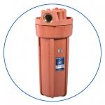 """Натрубный корпус фильтра AquaFilter 10"""" """"FHHOT-1"""" 8,6bar до 93°C"""