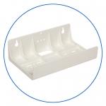 """Двойной универсальный пластиковый кронштейн к корпусам 5"""" и 10"""" AquaFilter """"FXBR2"""""""