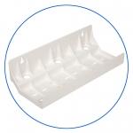 """Тройной универсальный пластиковый кронштейн к корпусам 5"""" и 10"""" AquaFilter """"FXBR3"""""""