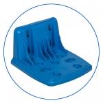 """Одинарный пластиковый кронштейн к корпусам BB10"""" и BB20"""" AquaFilter """"FXBRBBP-B"""""""