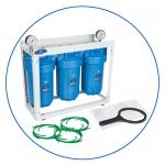 """Система фильтрации воды для всего дома типа """"Big Blue"""" 3-ступени очистки  AquaFilter 10""""BB """"HHBB10B"""""""