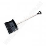 Лопата для снега Bradas KT-CXBR45 с алюм. профилем и дер. черенком