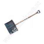 """Лопата для снега Bradas """"RL-48"""" KT-CXRL с дер. черенком"""