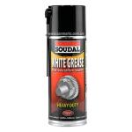 """Смазочно-защитный аэрозоль Soudal """"White Grease"""" смазывающий"""