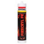 """Огнестойкий акриловый герметик Soudal """"Fire Cryl FR"""" для внутреннего использования"""