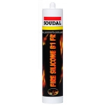 """Огнестойкий силиконовый герметик Soudal """"Fire Silicone B1 FR"""" для внутр. и наруж. применения"""