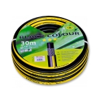 """Шланг Bradas """"Black Colour WBC12"""" 1/2"""" 20м черный с желтой полосой"""