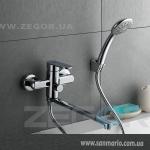 """Смеситель для ванной Zegor """"LOB7-A128"""" хром"""