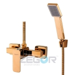 """Смеситель для душ кабины Zegor """"LEB5-A123 G"""" золото"""