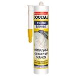 Нейтрально-санитарный силикон Soudal 300мл бел., прозр