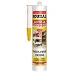 Универсальный силикон Soudal 300мл бел., прозр.