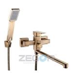 """Смеситель для ванной Zegor """"LEB7 A123-T"""" бронза"""