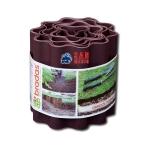 Бордюр садовый волнистый Bradas «OBFB 0920» 9м х 20см коричневый