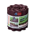 Бордюр садовый волнистый Bradas «OBFB 0925» 9м х 25см коричневый