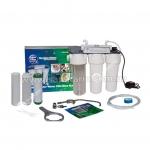 Четырехступенчатая система фильтрации слампой УФ под кух. мойку Aquafilter FP3-PlUS