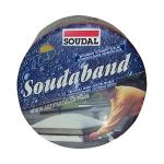"Битумная монтажная лента Soudal ""Soudaband"" 10см графит"