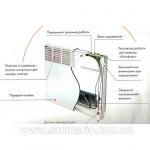 Конвектор электро Atlantic CMG-D MK01 F118-1000 Digit
