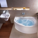 "Ванна акриловая асимметричная Kolo ""Promise"" 150x100 с/н SN7 левая"