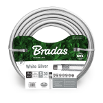 """Шланг Bradas """"NTS White Silver WWS34"""" 3/4"""" 50м серый"""
