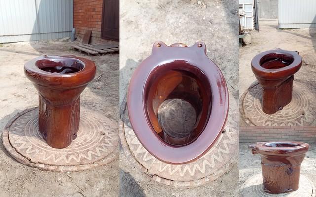 Как построить туалет на даче с унитазом своими руками