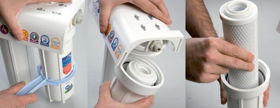 Фильтр для воды проточный как часто менять